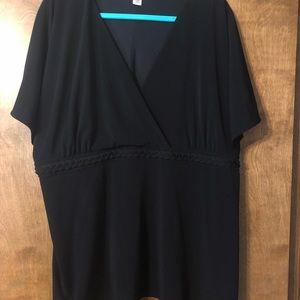 Cato black blouse